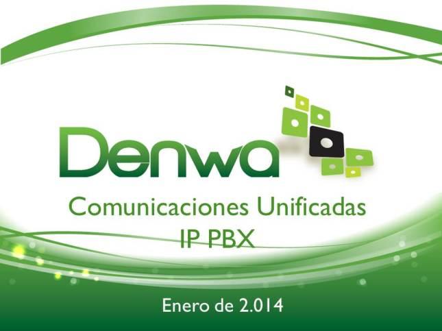 Presentación Denwa 2014